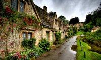 A Quiet Evening in an Irish Village