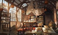A Laboratory in a Fantasy Environment