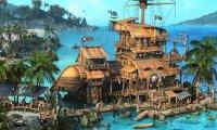 A pirate tavern