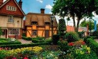 Explore this English Garden at Tea Time