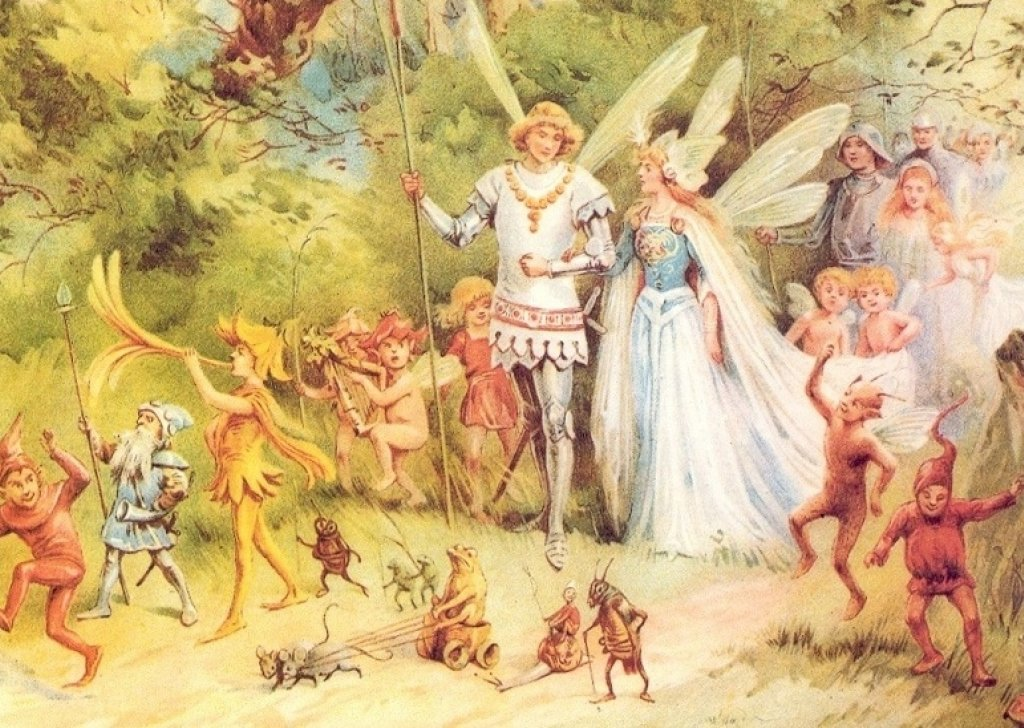A Fairy Wedding In The Woods Audio Atmosphere