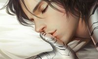 Sleeping with soft music