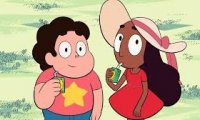 Steven and Connie are spending time with the gems