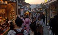 Crowd in Japan