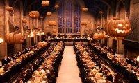 Halloween visits Hogwarts