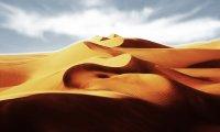 swirling sand