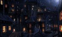 Dark and quiet d&d city