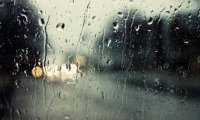 It's raining outside, but not inside.