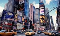 Noises Heard at Times Square New York City