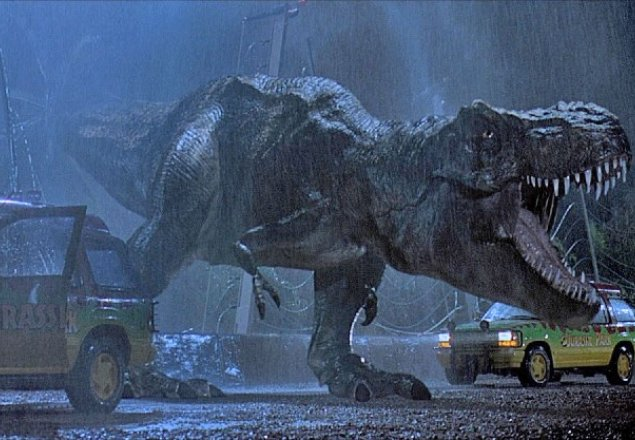 Jurassic Park is frightening in the dark. audio atmosphere лорд