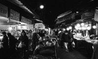 Cyberpunk City Market
