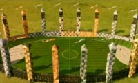 Quidditch match at Hogwarts