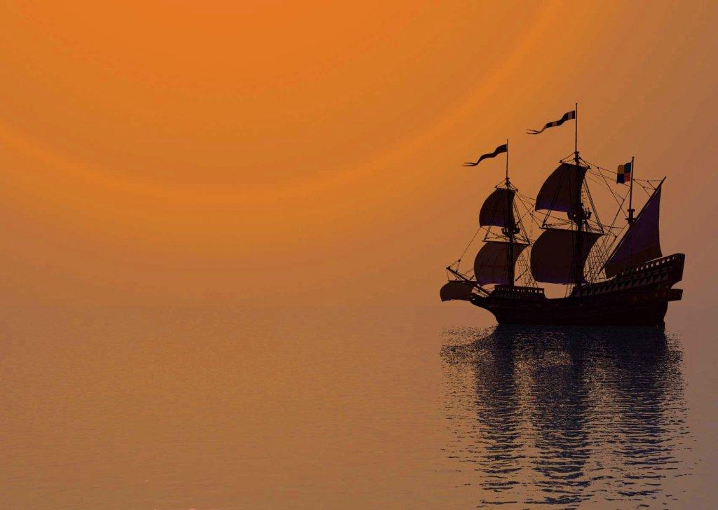 Ship At Calm Sea Audio Atmosphere