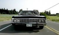 Take a calming ride in the Impala with the Winchesters