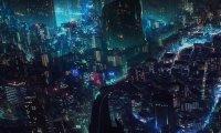 A Rainy Dystopian City
