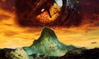 Flaming mountains