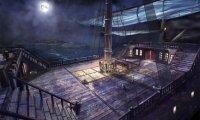 Quiet night on deck.