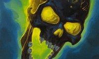 Noir Crushed Skull