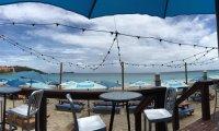 Bar on the beach atmosphere