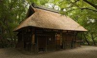 An Edo-era Japanese Chaya (Teahouse)