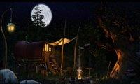 Gypsy Camp at Night