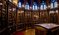 Quiet study near Thranduil's palace library