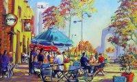 Busy Market Cafe