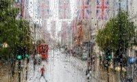 Raining Drive in London