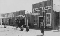 An Old Western Saloon