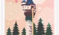 Rapunzel's Tower Stormy Night