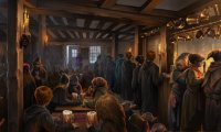 http://www.ambient-mixer.comSitting by the fire with a butterbeer in Hogsmeade