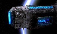 Sounds of a starship in transit through deep space