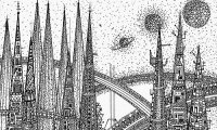 Sharn, the City of Towers from the Eberron settings
