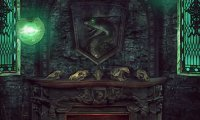 Slytherin Common Room at Night