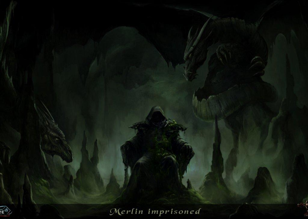 Just A Dark Wizard Doing Some Dark Magic Audio Atmosphere