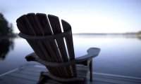 Watching sea from a near of a dock..