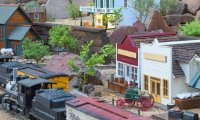 Silver Mining in Colorado for a Garden Railroad