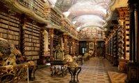 Asgardian Library with Loki