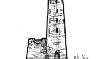 Titardinal's Spire is an ordinary-seeming stone tower at the edge of a large, live-giving lake.