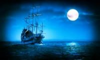 Night aboard the Jolly Roger
