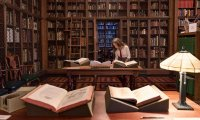 Get all your work done and feel at ease at the Hogwarts Library!