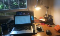http://www.ambient-mixer.comAt my desk