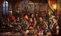 A lively tavern to drink your troubles away
