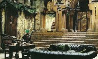 Slytherin Common Room~Evening