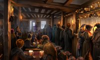 Butterbeer at The Three Broomsticks