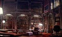 Hogwarts Library Reading Room