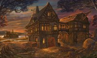 https://www.ambient-mixer.comTaking in a medieval tavern's ambience by the fireside...