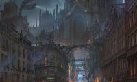 Steampunk City Atmosphere