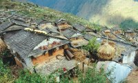 Nepal Mountain Village