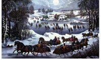 http://www.ambient-mixer.comCurrier and Ives Sleigh Ride